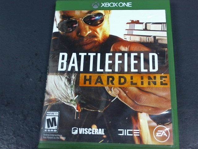MICROSOFT Microsoft XBOX One Game BATTLEFIELD HARDLINE - XBOX ONE