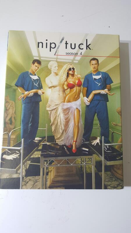 Nip/Tuck: The Complete Fourth Season 4 -(DVD, 2007, 5 Disc Set)