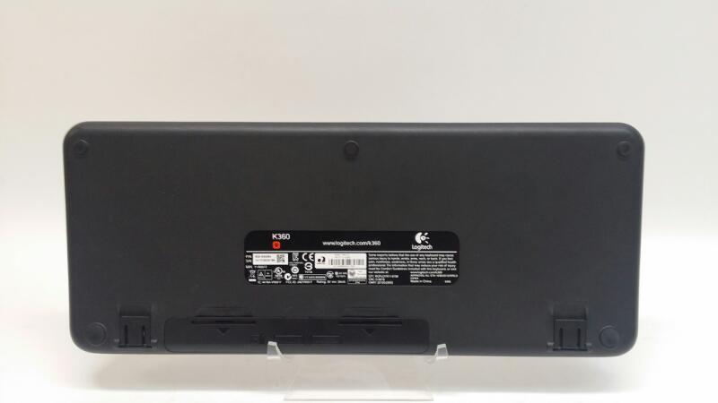 Logitech K360 Wireless Keyboard and Receiver Y-R0017 Glossy Black>