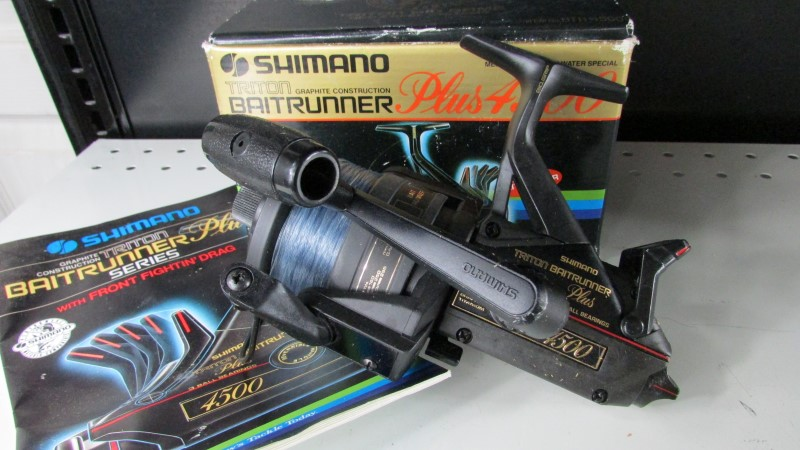 SHIMANO TRITON BAITRUNNER PLUS 4500 BTR-4500