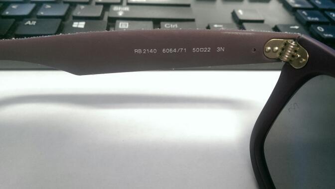 Ray Ban RB2140 Wayfarer 6064/71 50 22 3N Sunglasses