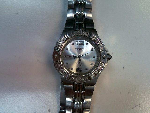 SEIKO Lady's Wristwatch 1N01-0LE0