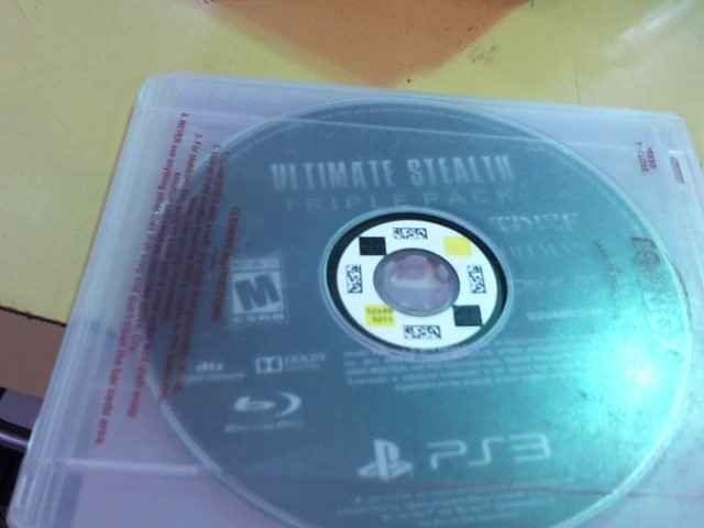 SONY Sony PlayStation 3 Game ULTIMATE STEALTH