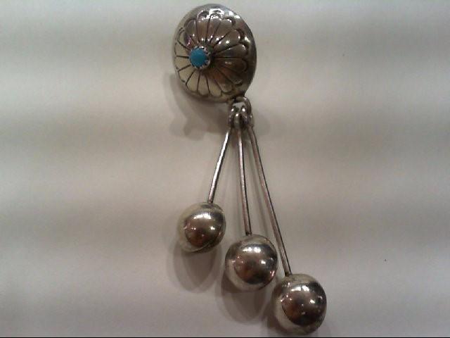 Silver Earrings 925 Silver 15.9g
