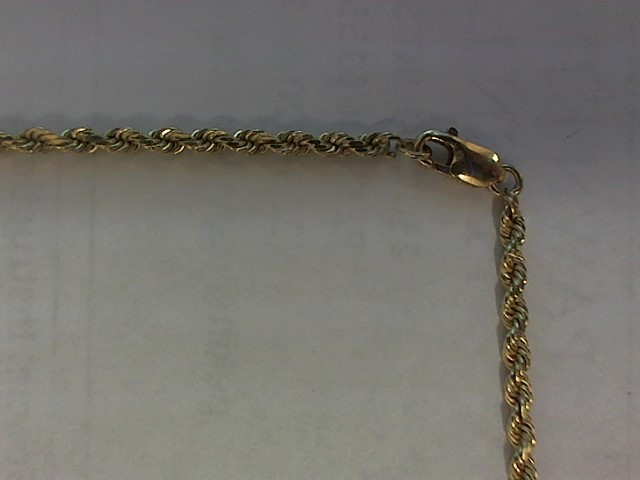Gold Chain 14K Yellow Gold 8.5g