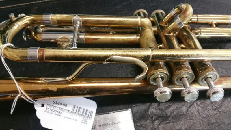 VINCENT BACH Trumpet/Cornet MERCEDES II