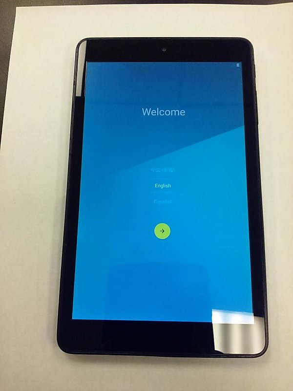 AT&T Tablet TABLET MODEL 9020A