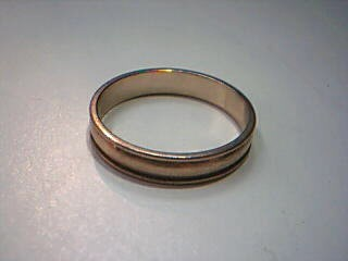Gent's Gold Wedding Band 10K Yellow Gold 2.5g Size:9