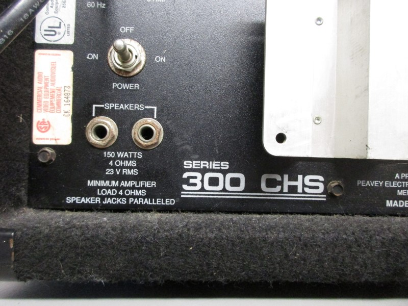 PEAVEY MARK III SERIES 300 CHS BASS AMP HEAD