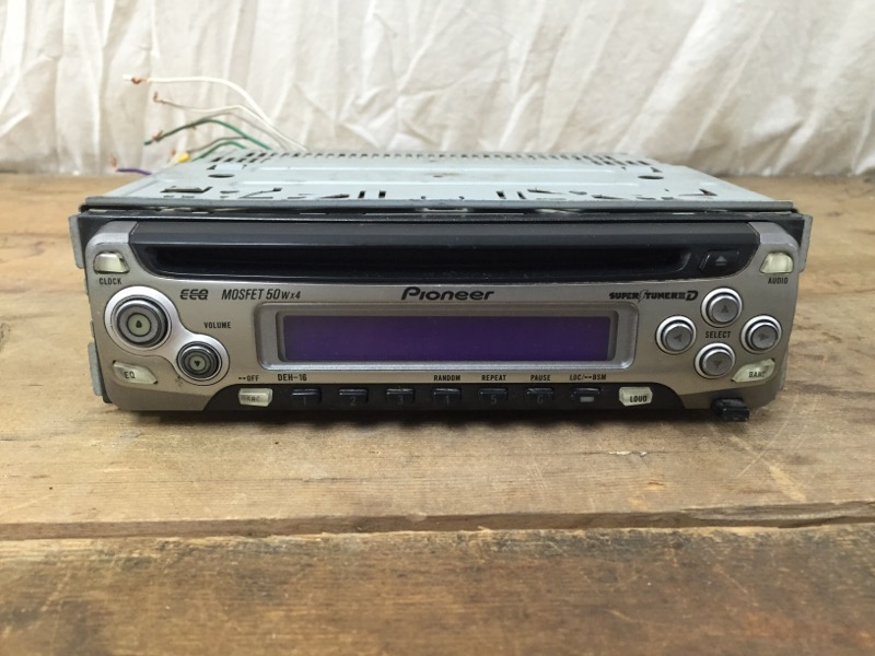PIONEER ELECTRONICS Car Audio DEH-16