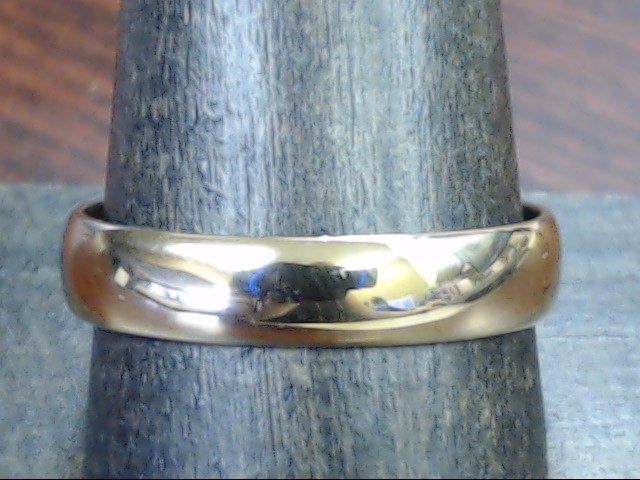 CLASSIC 4.5mm WEDDING RING BAND REAL 18K ROSE GOLD 3.7g MEN SZ 11.25