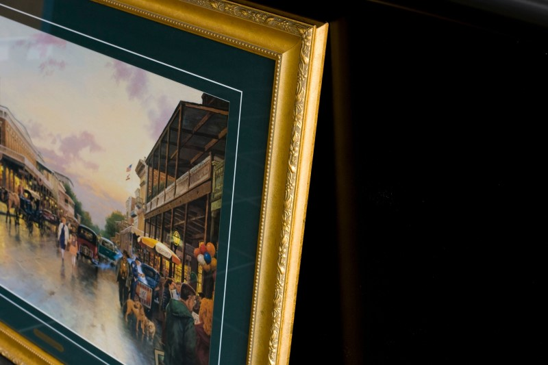 THOMAS KINKADE Print MAIN ST. CELEBRATION