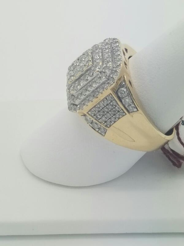 M'S 14KT Gent's Diamond Fashion Ring DIAMOND 120 Diamonds 1.20 Carat T.W.