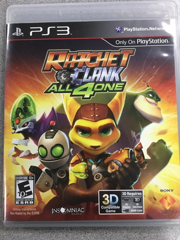 SONY Sony PlayStation 2 Game RATCHET & CLANK