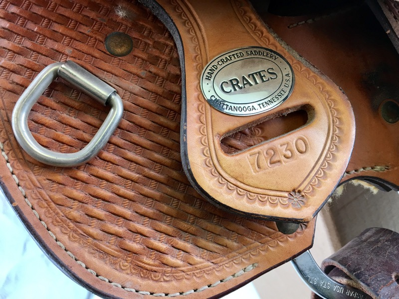 Crates 7230 Show Saddle HAND CRAFTED CHATTANOOGA, TENNESSEE USA