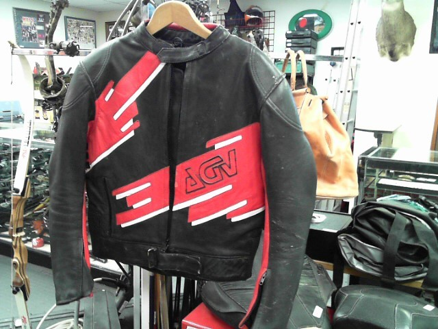 LEATHER JACKET - AVG SPORT sz.52