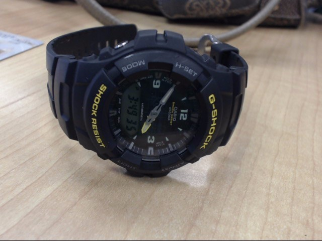 CASIO Gent's Wristwatch G-SHOCK G-100