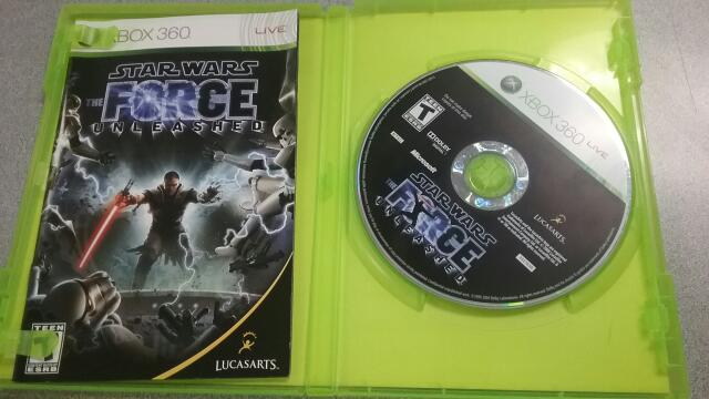 MICROSOFT Microsoft XBOX 360 Game STAR WARS THE FORCE UNLEASHED