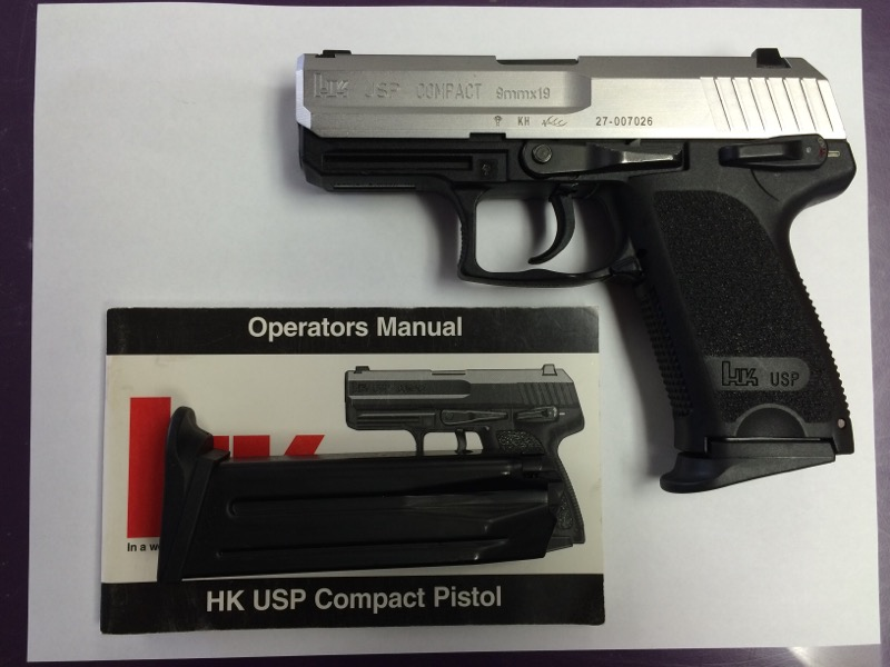 Heckler & Koch (HK) - USP Compact - 9mm - Bi-Tone