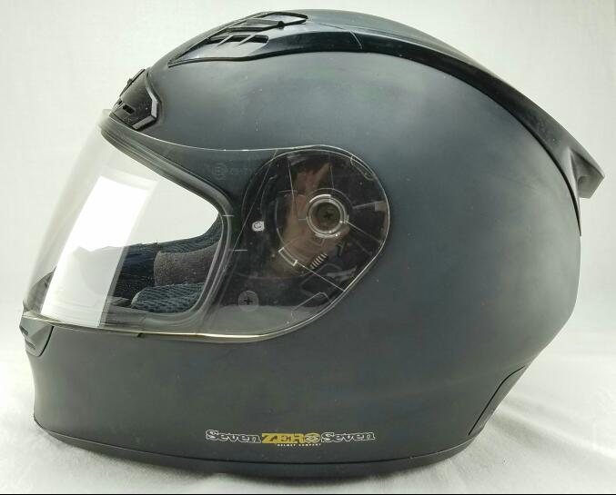 SEVEN ZERO SEVEN BACKLASH Large Motorcycle Helmet