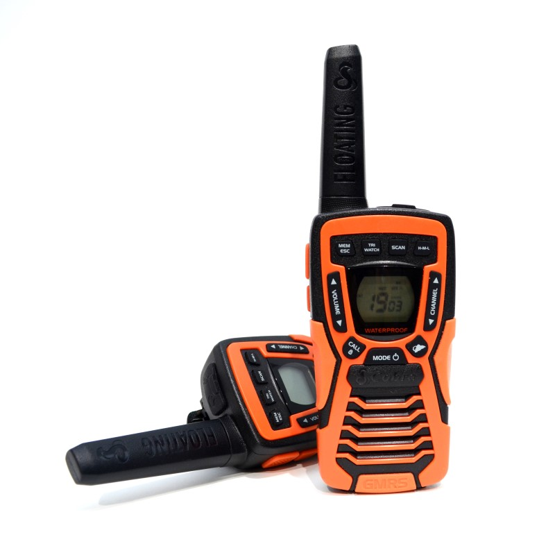 COBRA CXT1095 FLT 2 FLOATING WALKIE TALKIES 37MI RANGE NO BATTERIES>