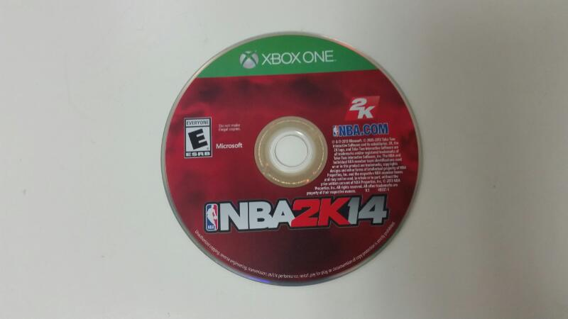 MICROSOFT XBOX ONE GAME NBA2K14 *DISC ONLY*
