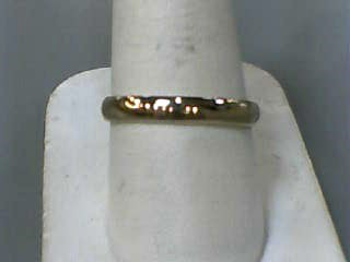 Gent's Gold Wedding Band 14K Yellow Gold 1.9dwt Size:9.5