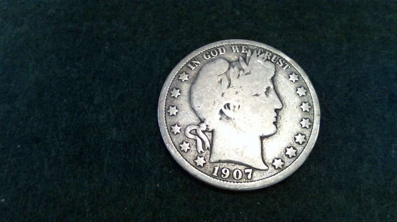 UNITED STATES Silver Coin SILVER HALF DOLLAR 1900-1915