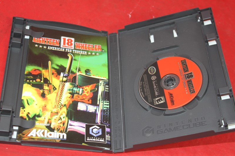 Eighteen 18 Wheeler American Pro Trucker (Nintendo GameCube) Complete