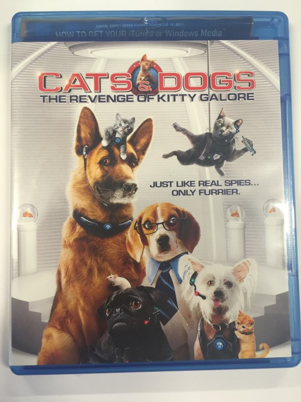 CATS AND DOGS THE REVENGE OF KITTY GALORE (BLU-RAY ONLY, 2010)