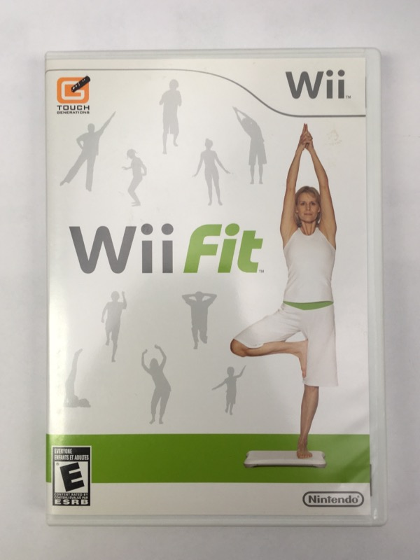 Wii Fit - (Nintendo Wii, 2008) - GAME ONLY