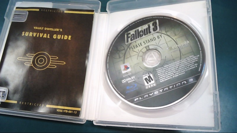 SONY Sony PlayStation 3 Game FALLOUT 3