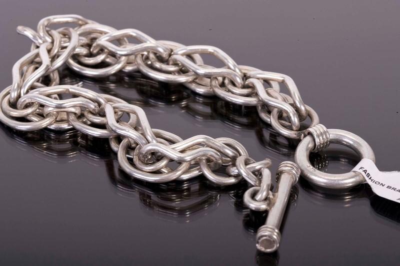 Silver Fashion Bracelet 925 Silver 62g