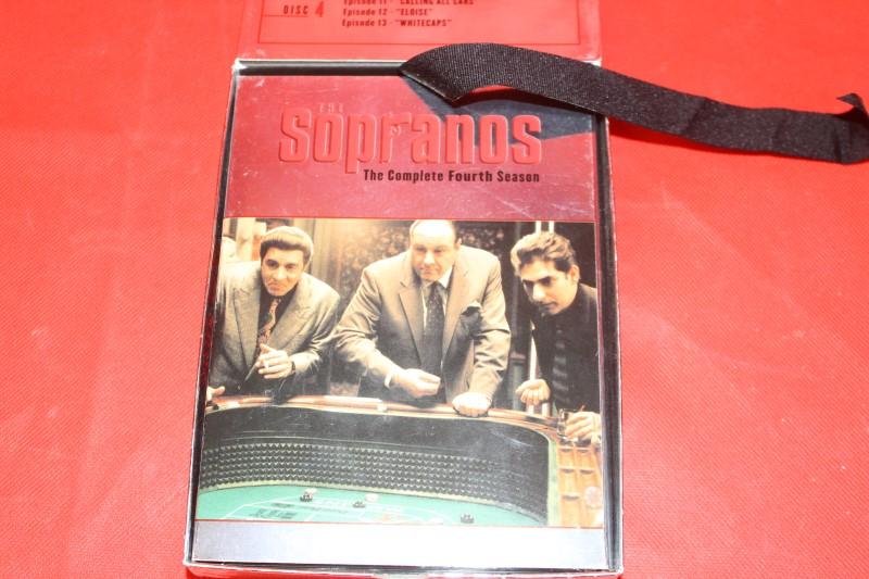 The Sopranos - The Complete Fourth Season (DVD, 4-Disc Set)