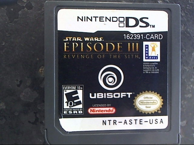 NINTENDO Nintendo DS Game STAR WARS: EPISODE III-REVENGE OF THE SITH DS