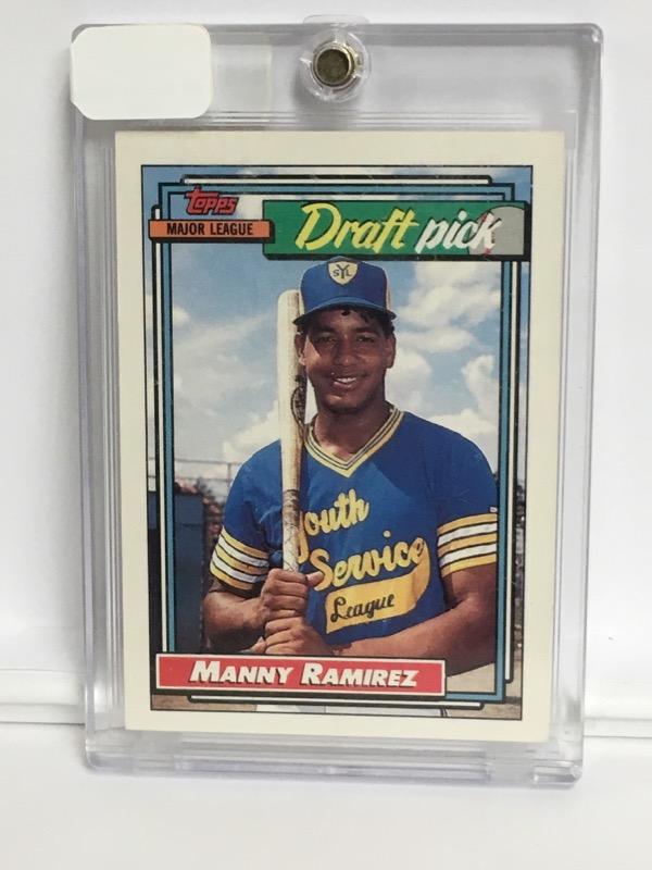 1992 TOPPS MANNY RAMIREZ 156