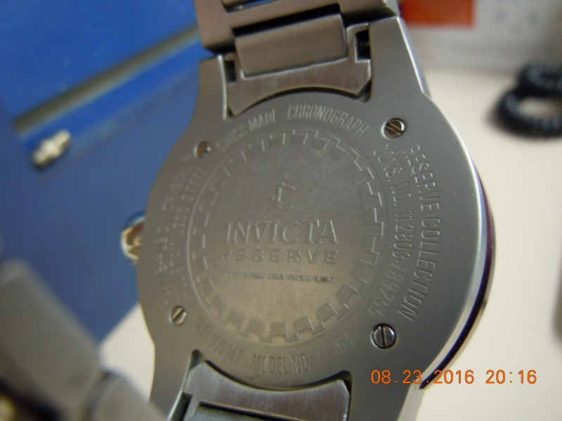 Invicta Reserve 14304 Men's Watch