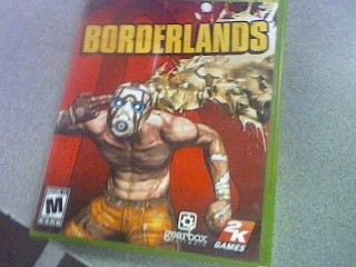 MICROSOFT Microsoft XBOX 360 Game BORDERLANDS