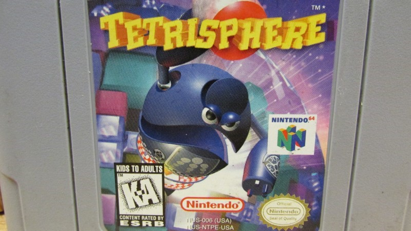 NINTENDO Nintendo 64 Game TETRISPHERE