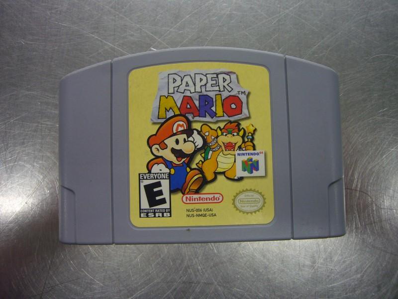 NINTENDO 64 Game PAPER MARIO *CARTRIDGE ONLY*