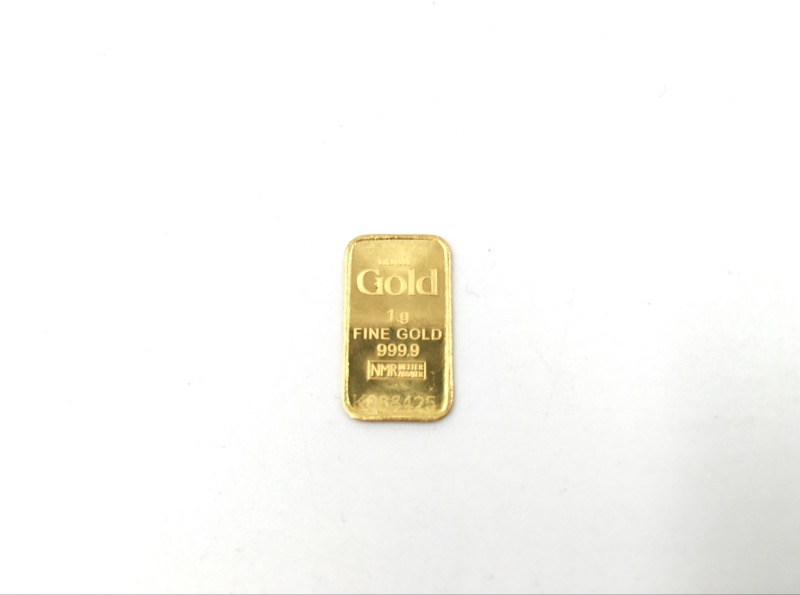 NADIR GOLD 1G 999.9 PURE GOLD BAR SERIAL NO. K088425