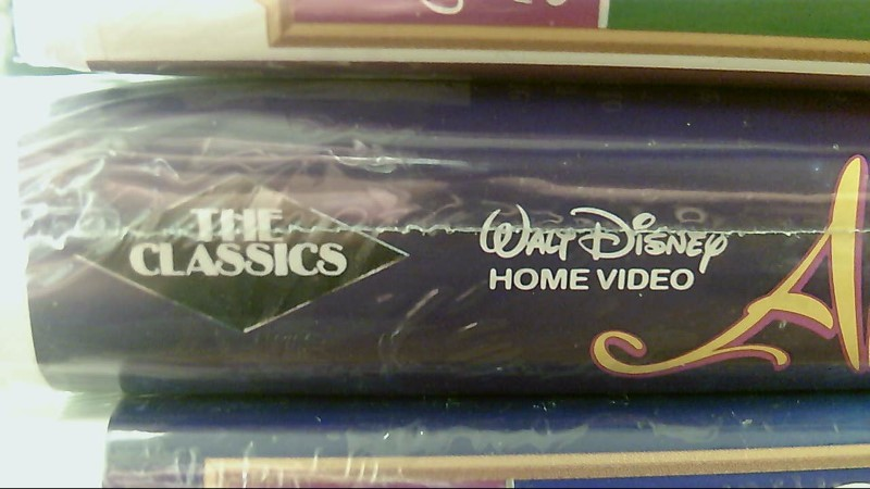 Factory Sealed Black Diamond Disney VHS Aladdin