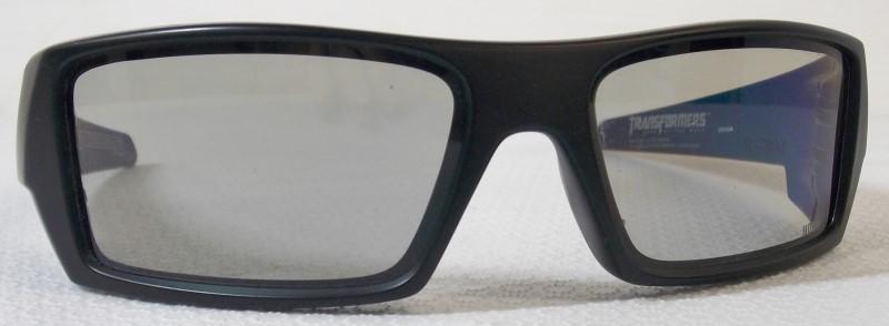OAKLEY'S LIMITED EDITION TRANSFORMER 3D GASCAN GLASSES
