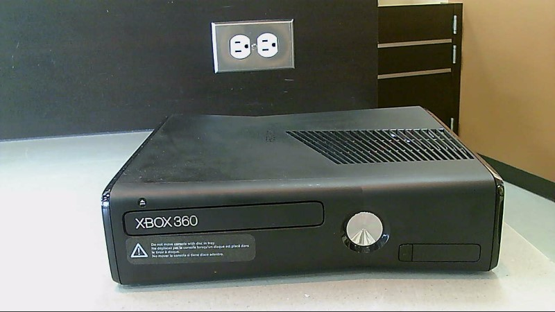 Preowned Microsoft Xbox 360 4GB 1439 Black