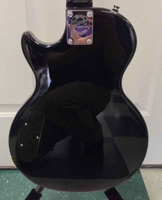 Black Epoch Gibson Les Paul Baldwin Music Education Electric Guitar