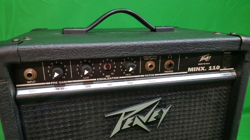 PEAVEY Bass Guitar Amp MINX 110 BASS AMP