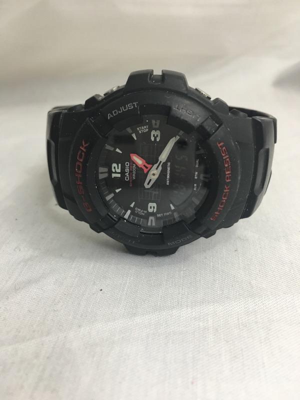 CASIO Gent's Wristwatch G-SHOCK G-100