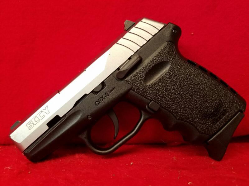 Sccy Industries CPX-2 9mm Pistol - 2 Mags