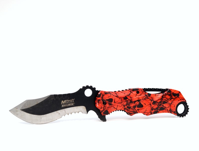 "MTECH MT-A808 ASSISTED OPEN POCKET KNIFE 4.75"" CLOSED 3.5"" BLADE>"