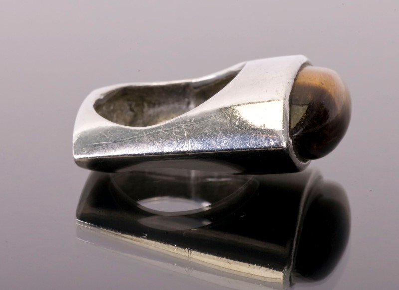 Lady's Silver Ring 925 Silver 12.6g Size:7.3